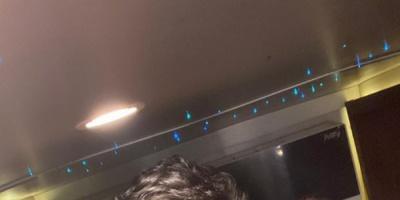 رامز جلال بصحبة غادة عادل ونجلها في أحدث ظهور لهما (صورة)