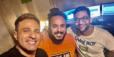 """محمد نور ينتهي من تسجيل """"رجعنا من تاني"""""""