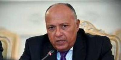 وزير الخارجية المصري: ملتزمون بالمسار الدبلوماسي في التعامل مع قضية سد النهضة