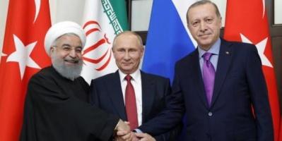 بوتين يدعو روحاني وأردوغان للحث على الحوار السياسي في سوريا