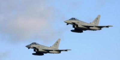 التحالف يقصف وسائط للدفاع الجوي بصنعاء