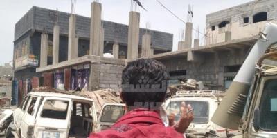 حملة لإزالة المُخلفات بشوارع ردفان