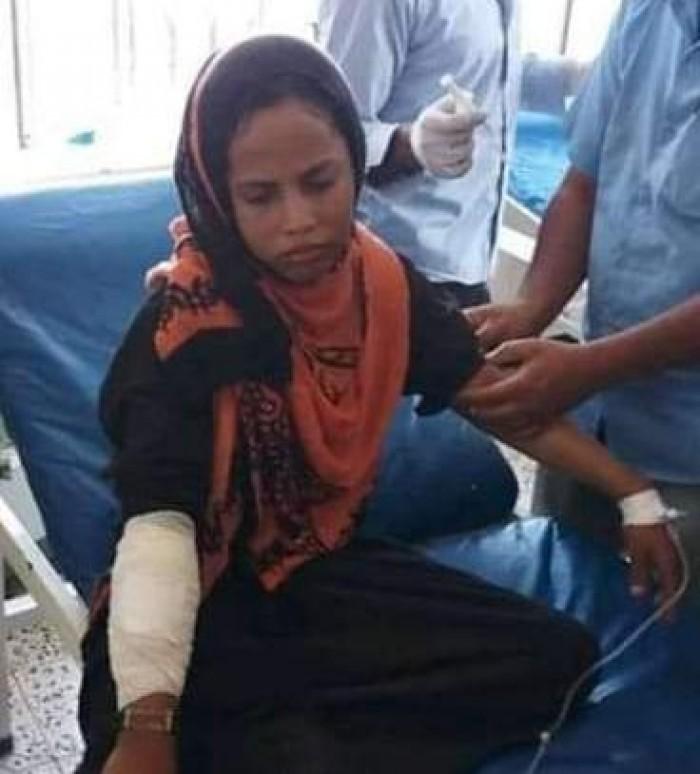 قناص حوثي يستهدف طفلة شمال الفاخر