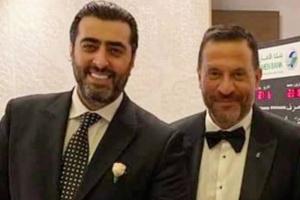 رسائل حب متبادلة بين باسم ياخور وماجد المصري (صورة)