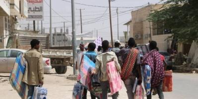 """""""الدولية للهجرة"""" توفر مواد إيواء لـ300 لاجئ في مأرب"""