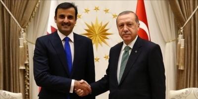 """""""أردوغان يحلب تميم"""" هاشتاج يشعل تويتر"""