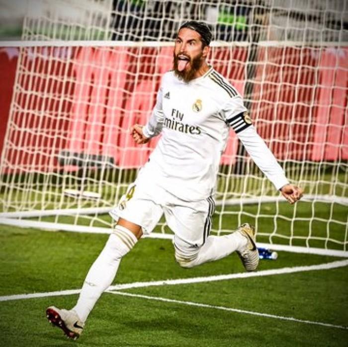 راموس ينقذ الريال من كمين خيتافي بفوز ثمين ويعزز صدارة الفريق للدوري الإسباني