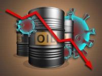 النفط يتخلى عن مكاسبه أمام ارتفاع حالات الإصابة بكورونا