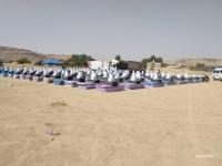 مفوضية اللاجيئن توزع مواد إيواء على 800 أسرة بصعدة