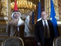 وزيرا خارجية الإمارات وفرنسا يعلنان دعمهما للمبادرة المصرية لإنهاء الأزمة الليبية