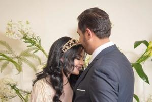 ديانا كرزون تحتفل بعيد ميلاد خطيبها معاذ العمري