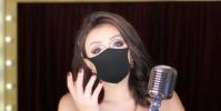 ميريهان حسين تبهر جمهورها بتقليد أنغام (فيديو)