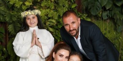 سيرين عبد النور بصحبة زوجها وأطفالها في أحدث ظهور (صورة)
