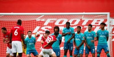 مانشستر يونايتد يكتسح بورنموث وينضم للمربع الذهبي بالدوري الإنجليزي