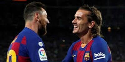 برشلونة بحاجة للفوز لإيقاف التساؤلات بشأن ميسي وجريمان وسيتين