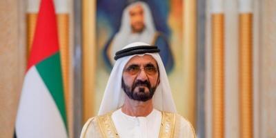 الشيخ محمد بن راشد يهنئ ترامب بذكرى استقلال بلاده