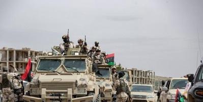 الجيش الليبي: قصفنا آليات تابعة للميليشيات في براك الشاطئ