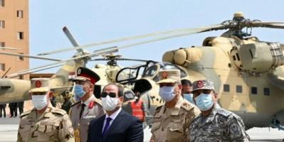 الجيش المصري يتخذ تدابير عسكرية جديدة لتأمين العمق الغربي الحدودي مع ليبيا