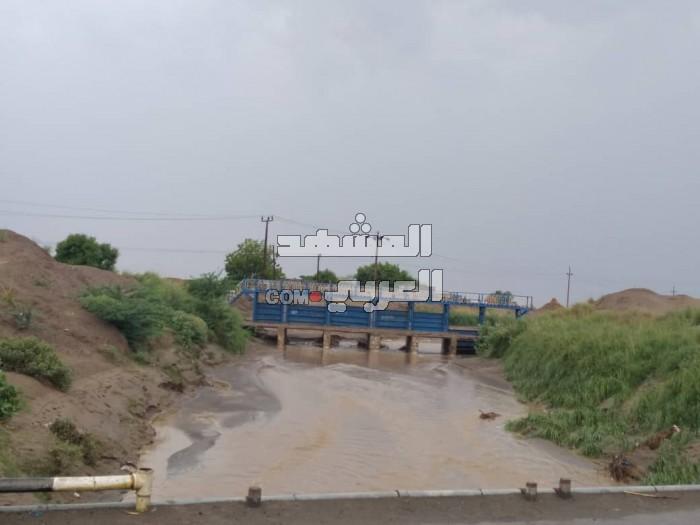 السيول تروي 2200 فدان في دلتا أبين