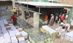 الإمارات تُنهي أزمة الغذاء بأحد مراكز حديبو (صور)