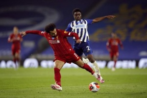 صلاح يقود ليفربول لاجتياز برايتون بثلاثية في الدوري الإنجليزي