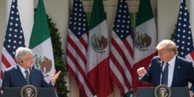 ترامب ونظيره المكسيكي يشيدان بقوة علاقات البلدين