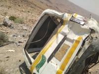 حادث مروري يخلف 7  قتلى في حضرموت