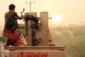 """مليشيا الحوثي تهاجم الدريهمي و""""المشتركة"""" تردعها"""