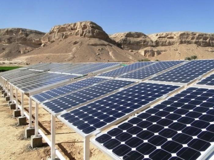 بدعم سعودي.. مشروع مياه بالطاقة الشمسية في شبوة