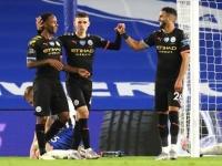 سترلينج يقود مانشستر سيتي لاكتساح برايتون بخماسية نظيفة في الدوري الإنجليزي
