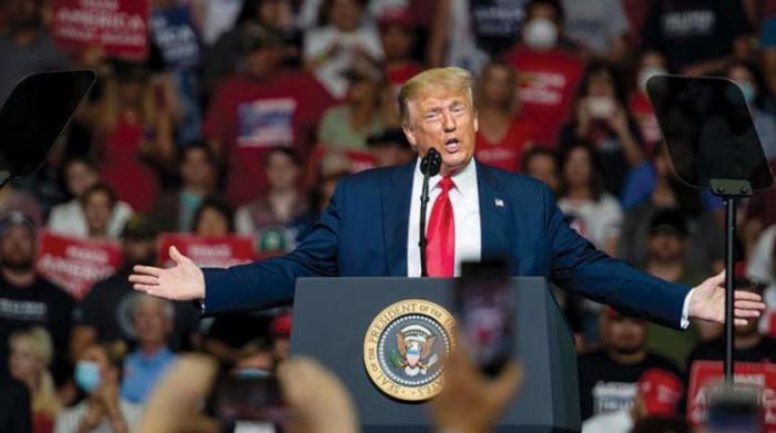ترامب: بايدن عاجز عن السيطرة على اليسار الراديكالي