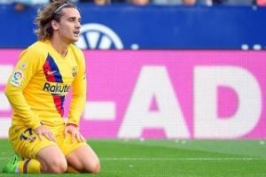 ديشامب: وضع جريزمان مع برشلونة لا يقلقني