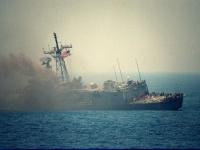 حريق في مدمرة أمريكية وإصابة 21 شخصًا على متنها