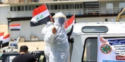 العراق يُسجل 100 حالة وفاة و2229 إصابة جديدة بفيروس كورونا