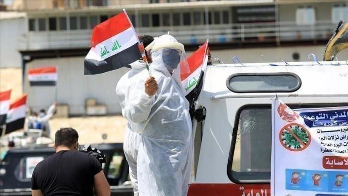 العراق يُسجل 95 وفاة و2022 إصابة جديدة بفيروس كورونا