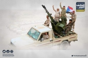 بكسر نيران المليشيا.. إفشال هجوم إخواني على جبهة أبين