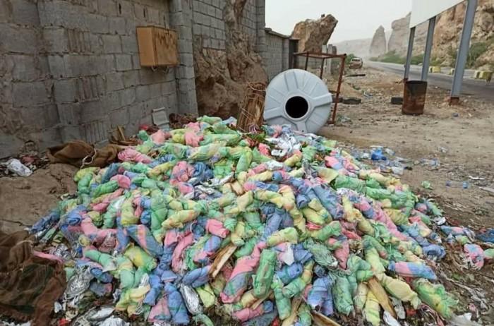 كمائن ليلية تضبط 3500 بندل قات بحضرموت (صور)