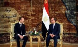 الرئيس المصري والفرنسي يبحثان تطورات الأزمة الليبية
