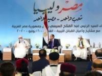 الرئيس المصري: لن نقف مكتوفي الأيدي حيال تهديد أمننا القومي