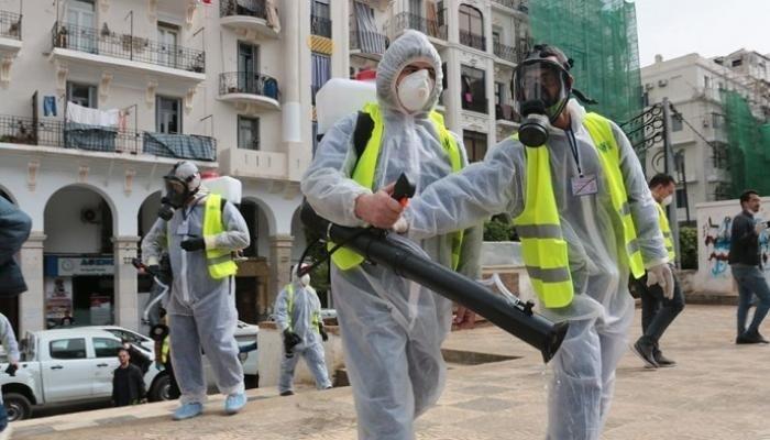 الجزائر تُسجل 5 وفيات و593 إصابة جديدة بكورونا