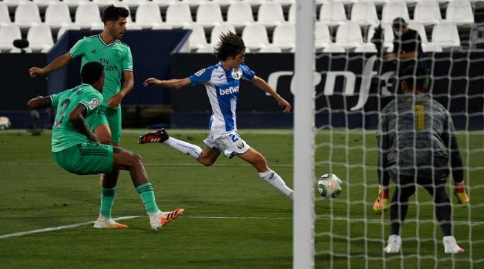 ليجانيس يكلف ريال مدريد أول سقوط بعد الكورونا