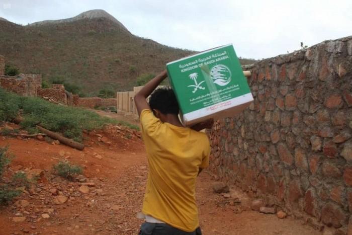 توزيع 74 طن مساعدات في حديبو
