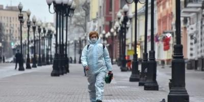 روسيا تُسجل 153 وفاة و5842 إصابة جديدة بفيروس كورونا