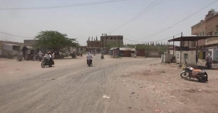 هجمات حوثية على مناطق متفرقة في حيس