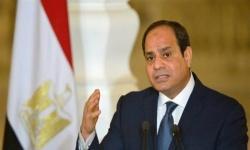 الرئيس المصري: نرفض المساس بحقوقنا المائية