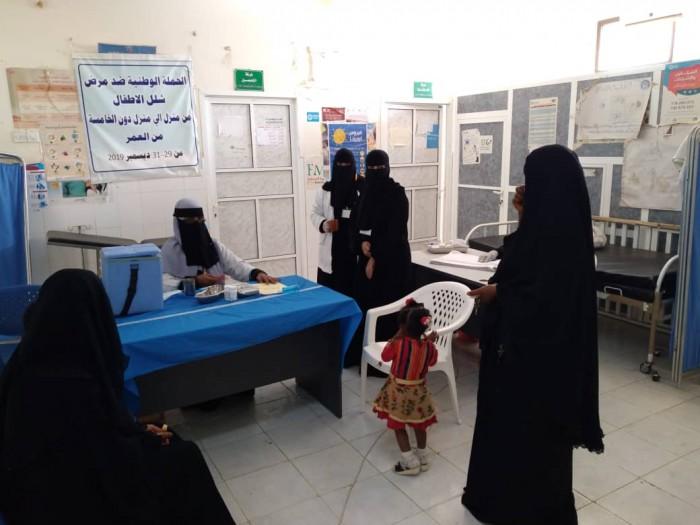 خلال 3 أيام.. تطعيم 23500 طفل في خنفر ضد الشلل