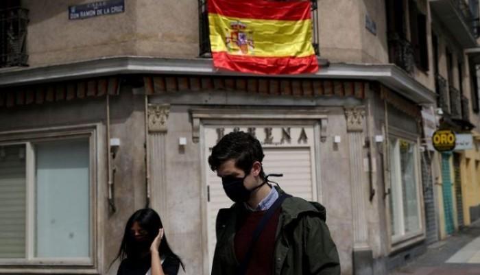 إسبانيا تسجل 1229 إصابة جديدة بكورونا