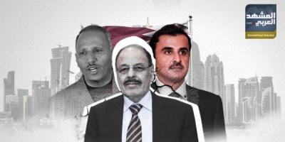 قطر تبث سمومها في الجنوب لإنقاذ الشرعية (ملف)