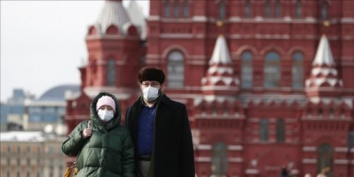 روسيا تُسجل 70 وفاة و5427 إصابة جديدة بكورونا