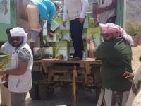 """""""خليفة الإنسانية"""" تضخ مساعداتها شرق سقطرى"""